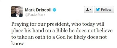 driscoll inauguration tweet