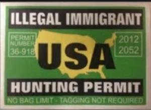 immigrant hunting permit