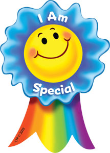 I am special smiling ribbon rewards